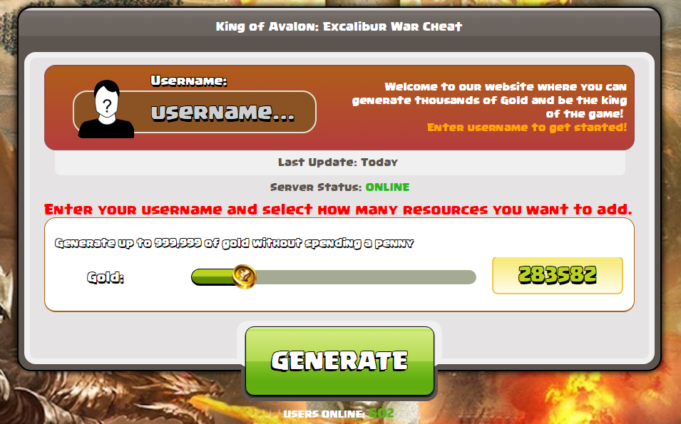 King of Avalon: Excalibur War Hack