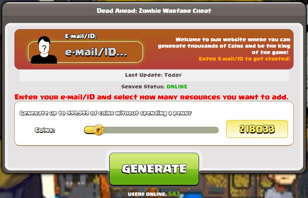 hack di guerra zombie Dead ahead